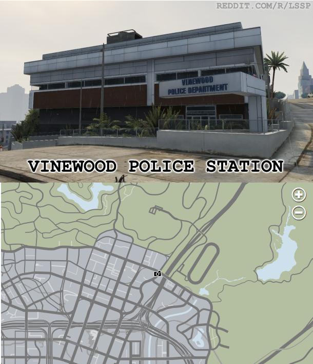 Полицейский участок Вайнвуда | Grand Theft Wiki | FANDOM