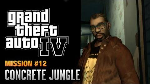 GTA 4 - Mission -12 - Concrete Jungle (1080p)