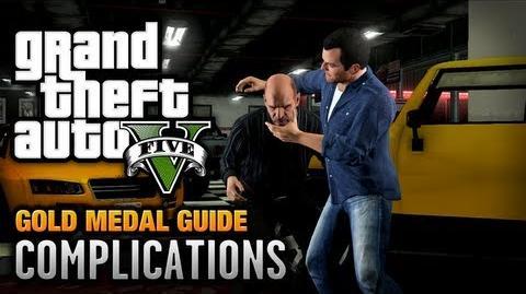 GTA 5 - Mission 3 - Complications 100% Gold Medal Walkthrough-0