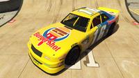 HotringSabre-GTAO-Liveries-16-BurgerShot-Yellow-FrontQuarter