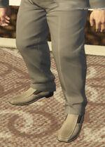 Ponsonbys (V - Szare buty wsuwane)