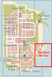 Portland Harbor (mapa)