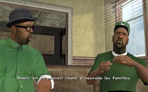 Reuniting the Families GTA San Andreas (objectif)