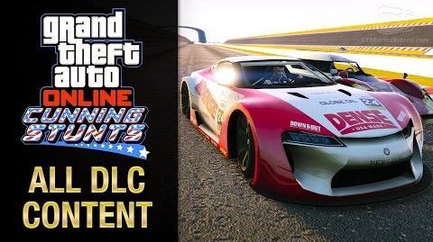 GTA Online - Cunning Stunts All DLC Contents