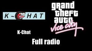 GTA Vice City - K-Chat Full radio