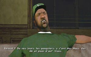 Nines and AK's GTA San Andreas (équipement)