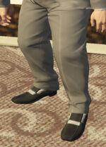 Ponsonbys (V - Dwutonowe buty wsuwane)