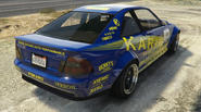 Sultan RS modifiée GTA O vue arrière