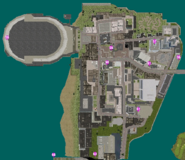 GTAVC HiddenPack 56-63 Downtown map