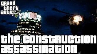 Grand Theft Auto V (PS3) - O Assassinato na Construção - Legendado em Português