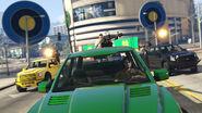 Caracara pendant les courses aux points GTA Online