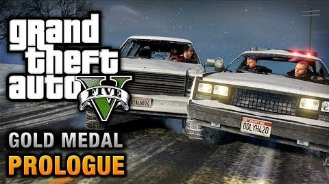 GTA 5 - Prologue 100% Gold Medal Walkthrough