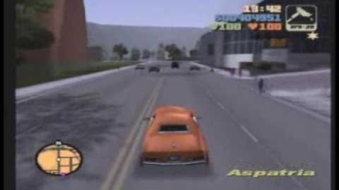 "Grand Theft Auto 3 Mission 36 — ""Gangcar Round-up"""