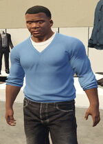 Ponsonbys (V - Niebieski sweter)