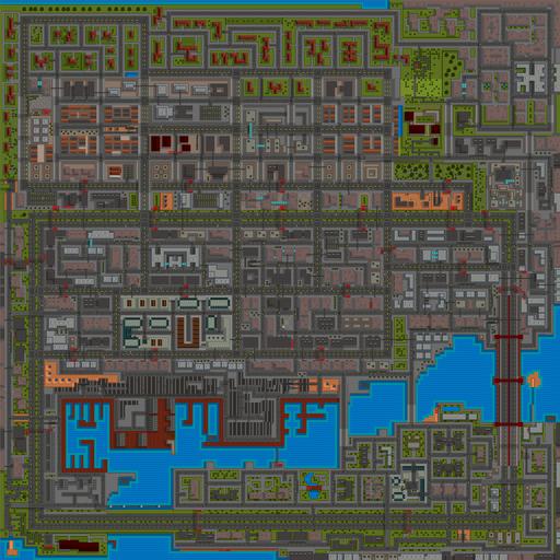 San Andreas (GTA1) (mapa - 2)
