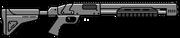 Strzelba tłokowa wer.2 (V - HUD)