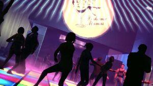 Bahama Mama's dancefloor