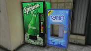 Distributeurs Sprunk et Rainé