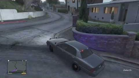 Gta5-Location Of Unmarked Crown Vic! (Police Cruiser) **NEW Channel**link in description