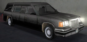 Romero's Hearse GTA Vice City (vue avant)