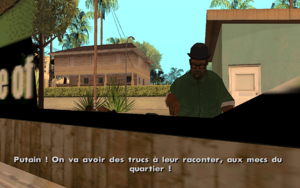 Reuniting the Families GTA San Andreas (fin)