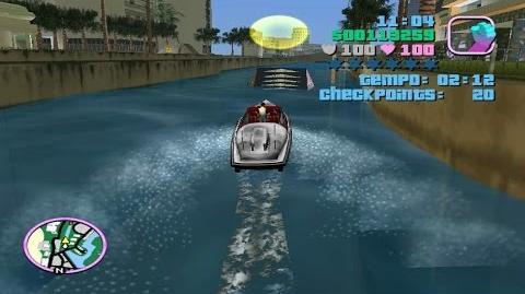 GTA Vice City- O Desafio Da Proeza No Barco