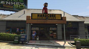 Hardcore Comic Store (V)