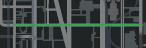 Lorimar Street (IV - mapa)