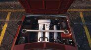 Vulcar Warrener - Vue moteur