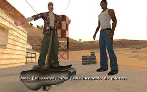 Green Goo GTA San Andreas (inaptitude)