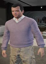 Ponsonbys (V - Bladoametystowy sweter)