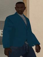 Didier Sachs (SA - Niebieska kurtka)