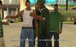 Los Sepulcros GTA San Andreas (objectif)