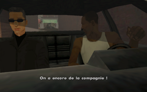 Mountain Cloud Boys (mission) GTA San Andreas (barrage)