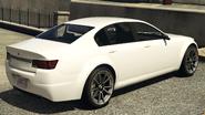 Fugitive vue derrière GTA V