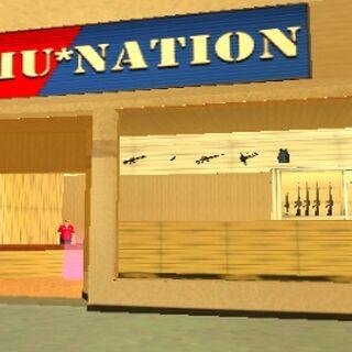 مخرج سوق الأسلحة في جي تي أي فايس سيتي ستوريز.