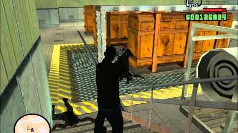 GTA San Andreas. Прохождение Black Project (миссия 64)