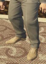 Ponsonbys (V - Piaskowe buty skórzane)