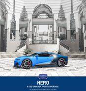 Nero publicité