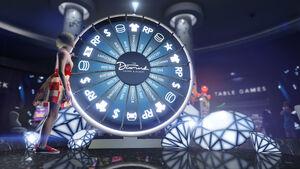 Roue de la fortune - GTA Online (image promotionnelle)