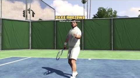 Grand Theft Auto 5 - Tennis Gameplay (Michael, Hard)
