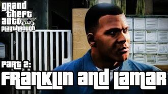 Grand Theft Auto V (PS3) - Franklin e Lamar - Legendado em Português