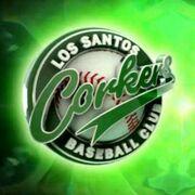 Los Santos Corkers Baseball Club logo