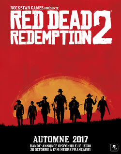 Affiche Red Dead Redemption 2
