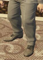 Ponsonbys (V - Szare buty skórzane)