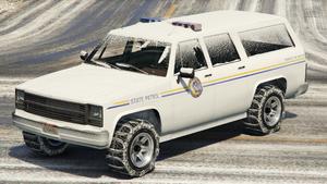 Police Rancher GTA V (vue avant)