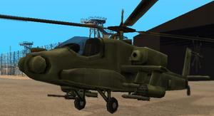 Hunter GTA San Andreas