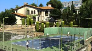 Maison des De Santa GTA V (tennis)