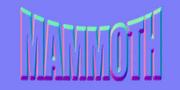 Mammoth badge