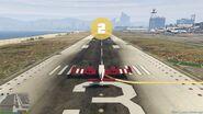 Start z pasa startowego (V - 1)